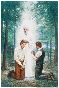 John Baptist Aaronic Priesthood Joseph Smith