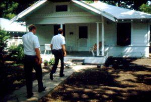 mormon missionaries knocking doors