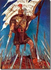Captain-Moroni-Raises-Title-Of-Liberty