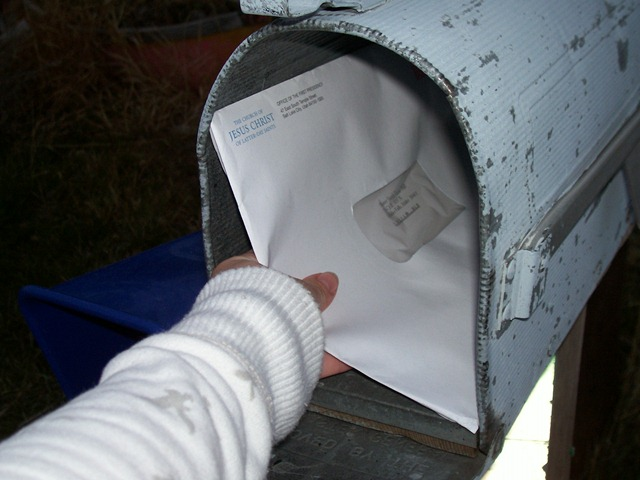 Mormon Mission Call Letter Example