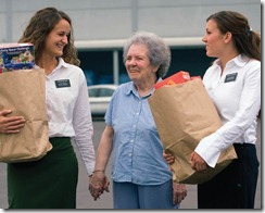 Sister Missionaries Serving