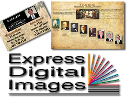missionary cards by Express Digital Images