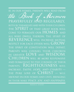 Book of Mormon Promise. Marion G. Romney