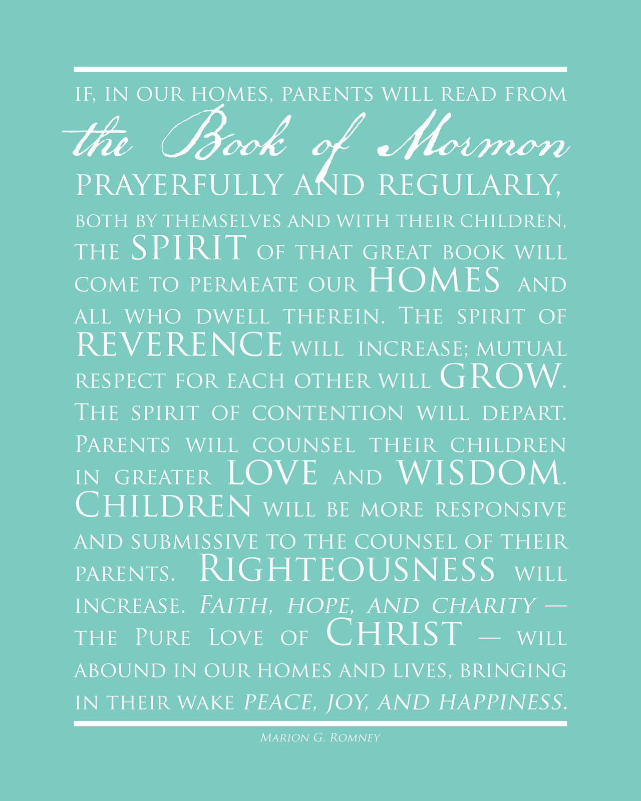 Book Of Mormon Quotes Reading The Book Of Mormon As A Family  Mormon Mission Prep