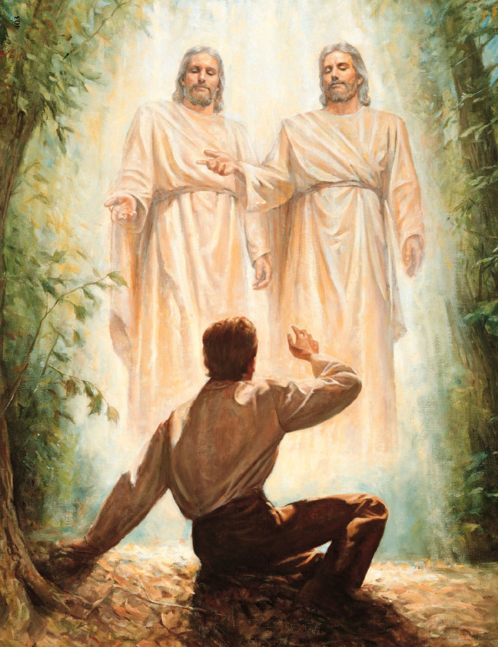 Image result for lds joseph Smith first vision