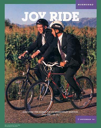 Joy Ride – Missionary MormonAd