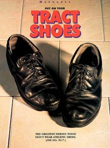 Tract Shoes - Missionary MormonAd