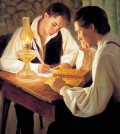 Joseph Smith Translating the Book of Mormon Feature