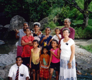 Colors of Christmas the Talebula Family of Fiji