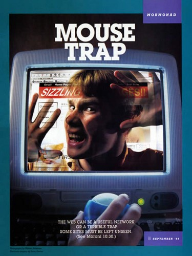 web mouse trap mormonad