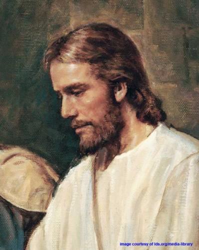 Jesus Christ ministering