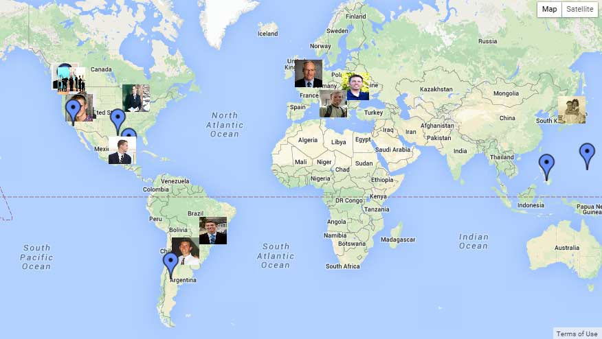 Virtual Mission Call Map Mormon Mission Prep