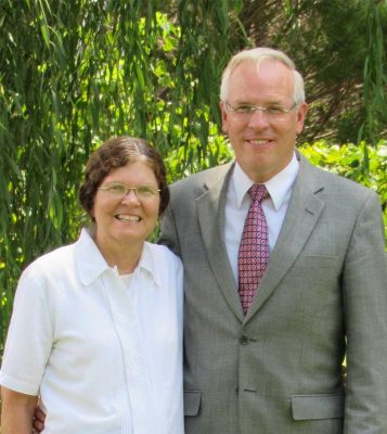 Paul and Terry Smith LDS Mission Application Photo