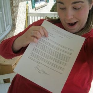 sister mission call letter