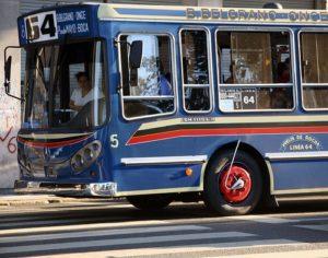 argentina bus colectivo