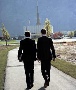 missionaries and provo temple