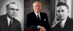 three gordon b hinckley photos