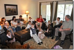 family-gathered-to-read-mission-call