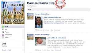 Like Mormon Mission Prep on Facebook