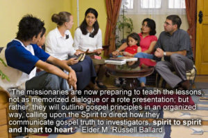 Teaching Spirit to Spirit - Sister Missionaries