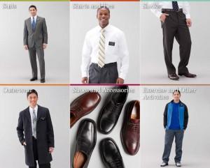 Élder (Hombre) Misionero vestido y normas de aseo personal