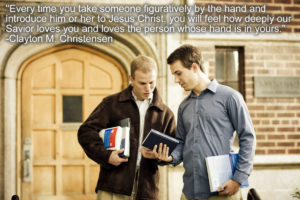 introducing a friend to Jesus Christ