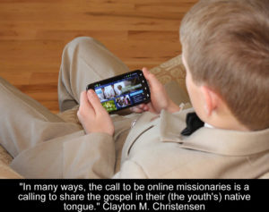 sharing gospel online youths native tongue