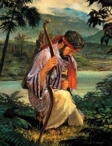 Enos Praying by Robert T Barrett