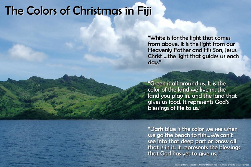 The Colors of Christmas in Fiji