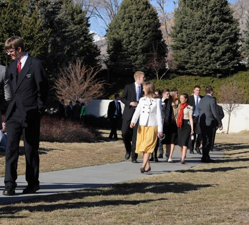 missionaries at provo temple
