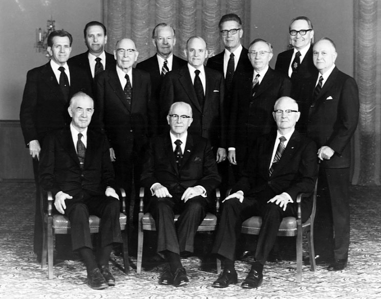 Image result for quorum of the 12 apostles 1978
