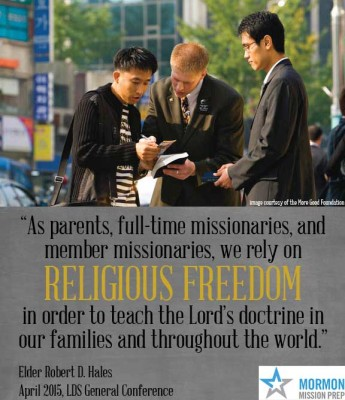 missionaries rely on religious freedom