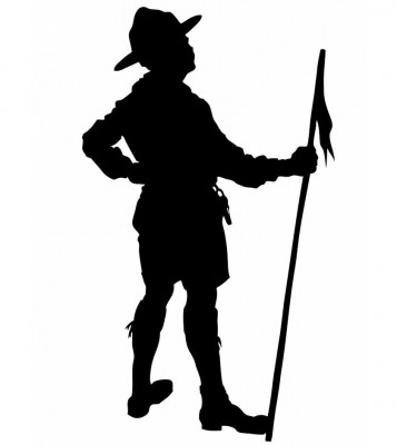 boy scout silhouette