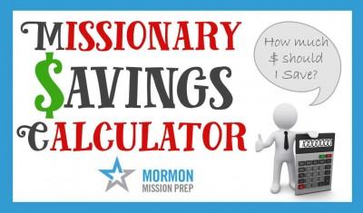 Calculadora de ahorros de misión