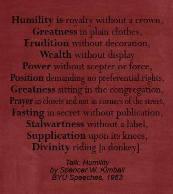 humility poem